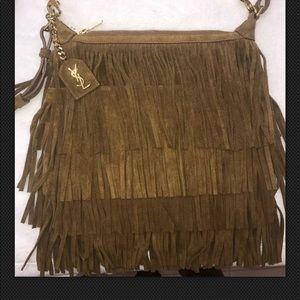 7a59e4e6be8 Women s Ysl Fringe Bag on Poshmark